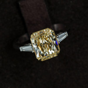 Baguette Engagement Rings